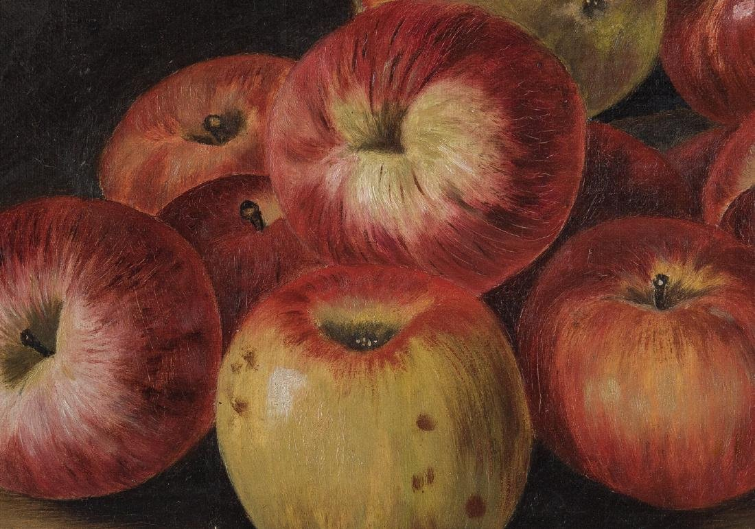 Still Life with Apples O/C, signed Ewing - 7