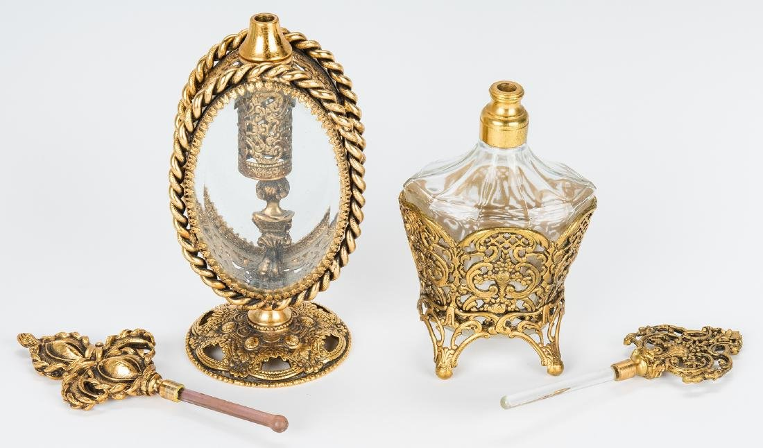 20 Atomizers and Bohemian Perfume Bottles - 10