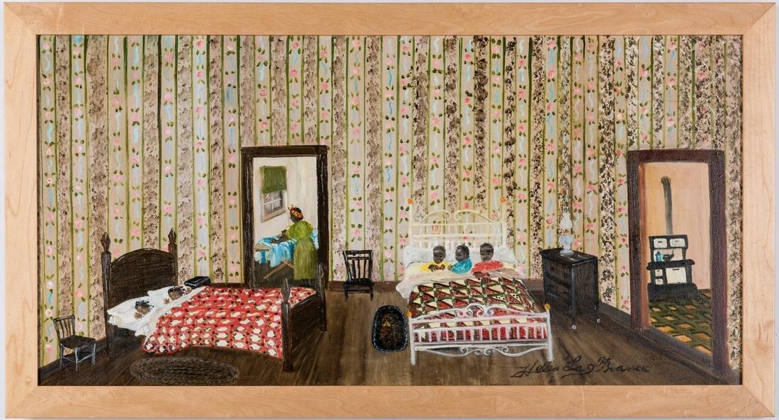 Helen LaFrance O/C, Children Sleeping