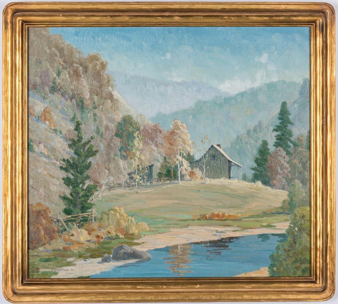 John Spelman O/C, Smoky Mountain Cabin
