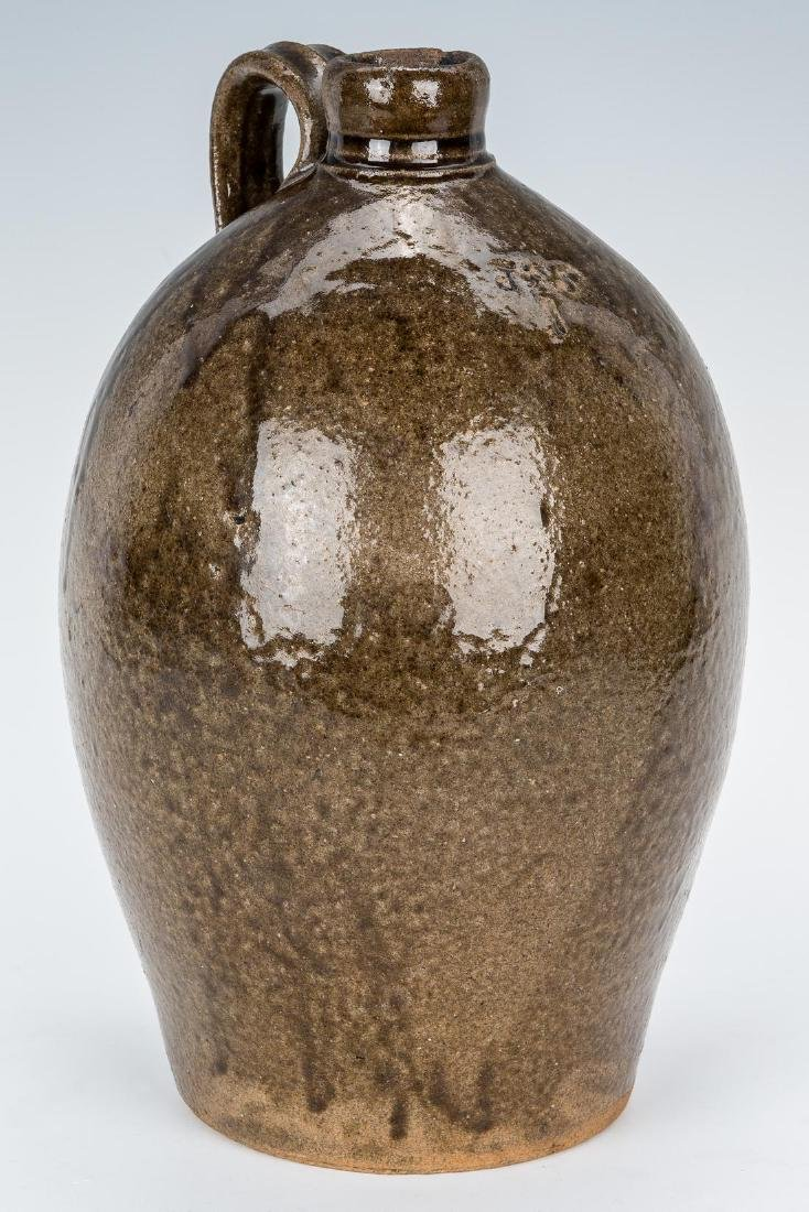 NC James Franklin Seagle Pottery Stoneware Jug, JFS