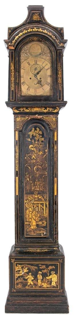 Thomas Wagstaffe Chinoiserie Tall Clock