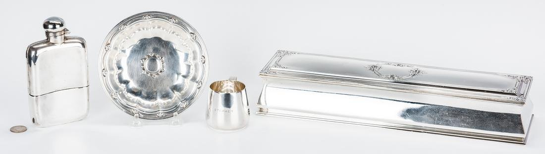 4 Sterling Items, incl. Tiffany & Co.