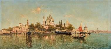 Nicholas Briganti OC Venice Canal Scene