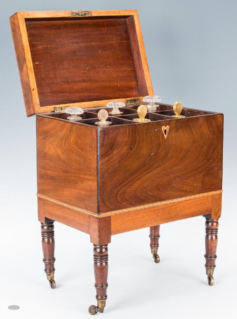 Georgian Mahogany Inlaid Cellarette