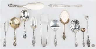 12 Rare Serving Pieces, incl. Schiebler
