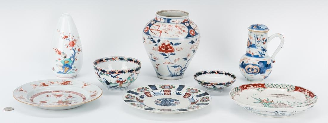 7 pcs. Japanese Porcelain