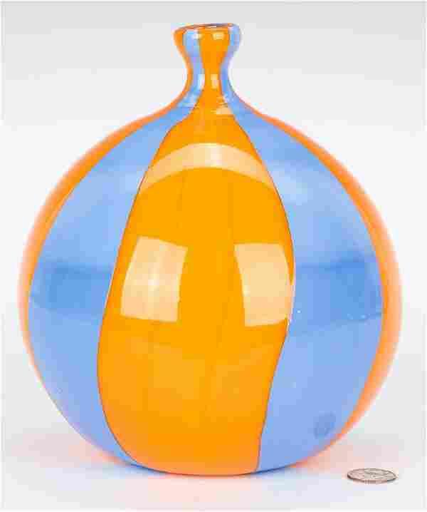 Massimiliano Schiavon Murano Glass Vase
