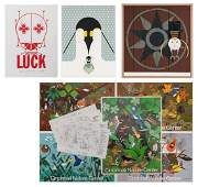 2 Charley Harper Serigraphs 5 Posters  more