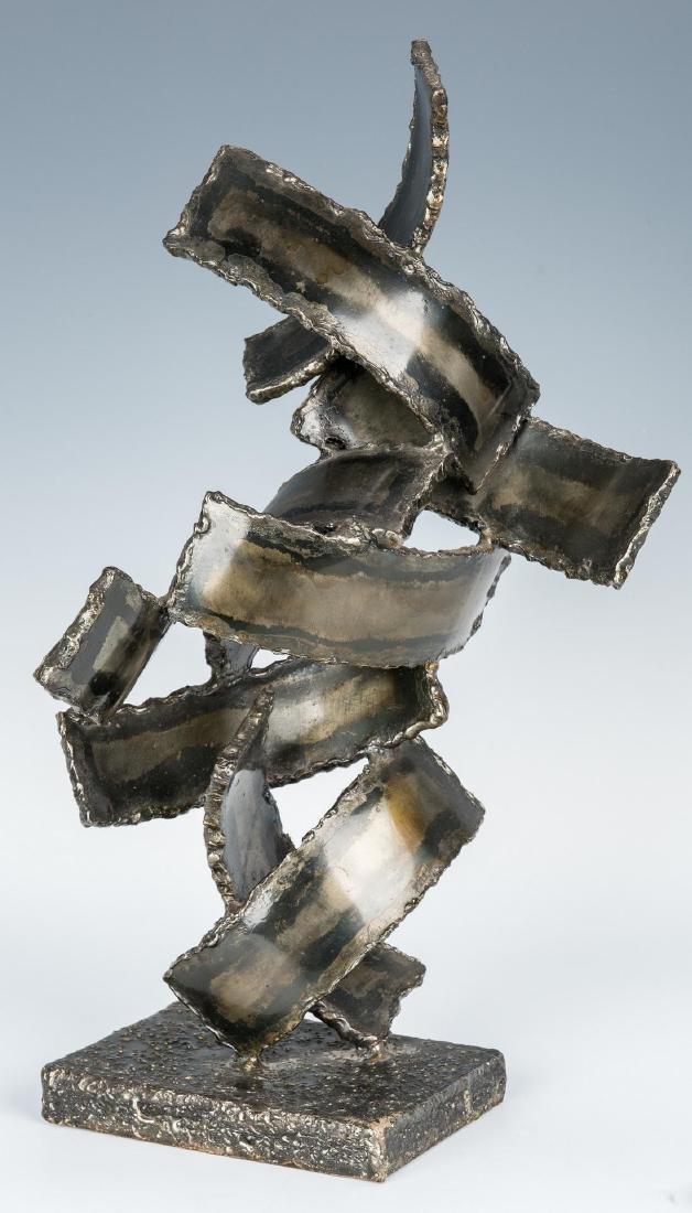 M. Fantoni Bronzed Steel Sculpture