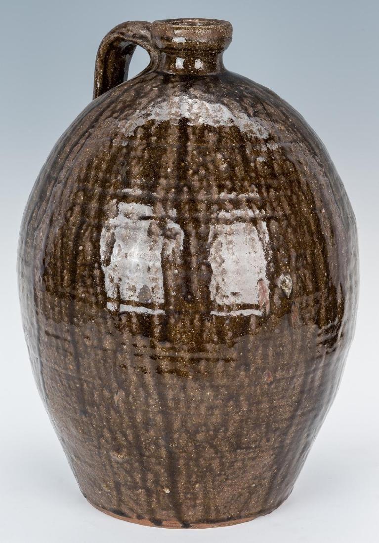 Western NC Nelson Bass Pottery Jug