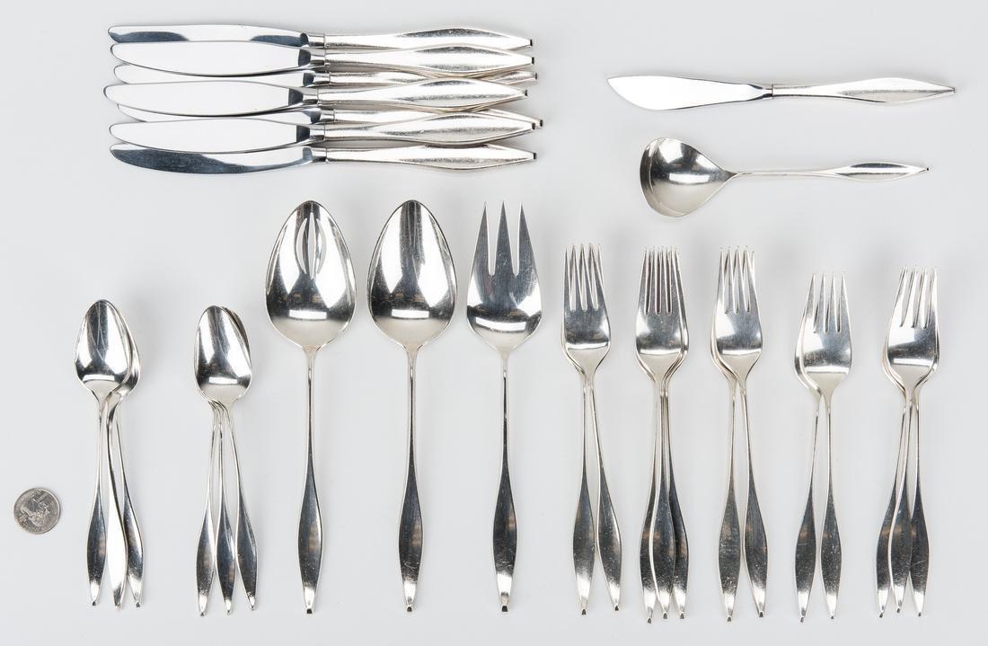 30 pcs. Reed & Barton Lark Pattern Sterling Silver
