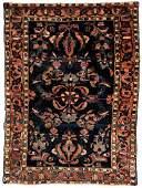 Antique Persian Sarouk Rug 46 x 35