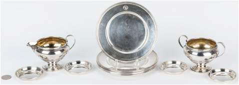 13 pcs. American Sterling Silver inc. bread plates