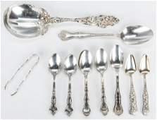 Assorted Flatware 16 Sterling 5 SP