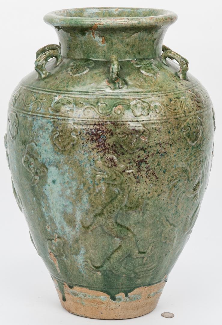 Large Southeast Asian Martaban Urn