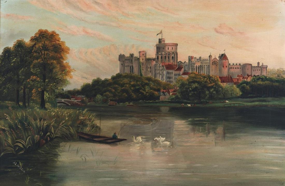 Signed British O/C, Windsor Castle