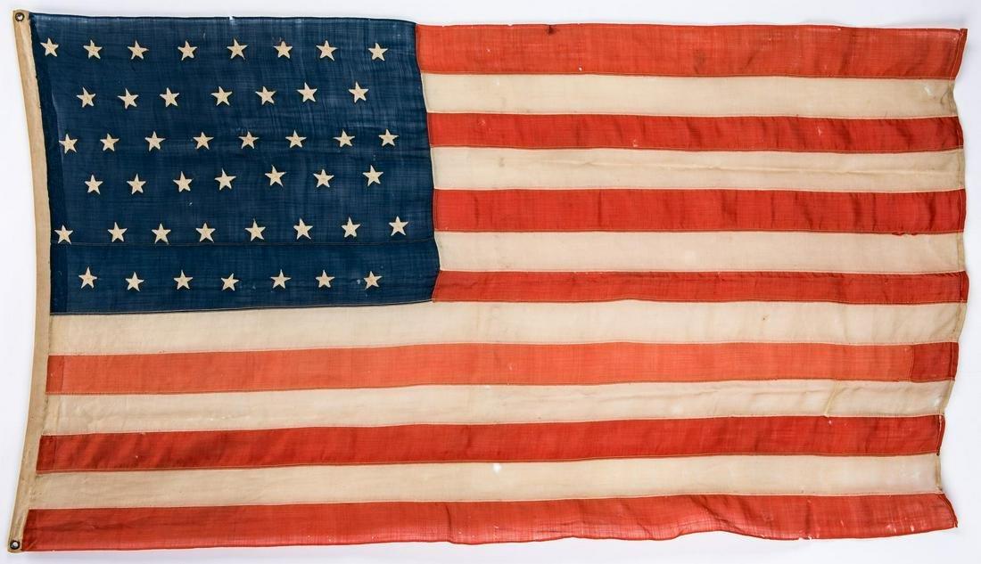 Spanish American War Era 45 Star American Flag