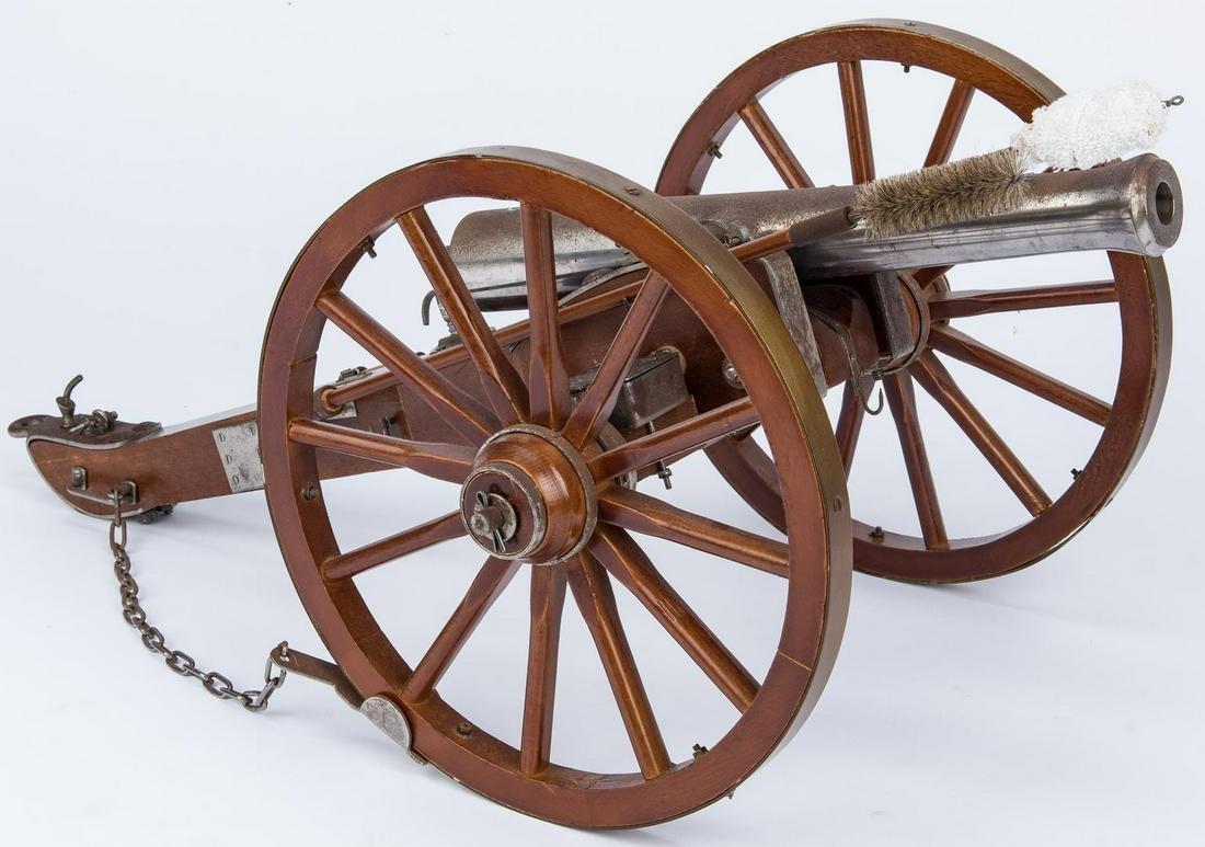 Spanish 20th Cent. Model Signal Cannon