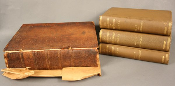 1: Books and items relating to Phillip Lindsley
