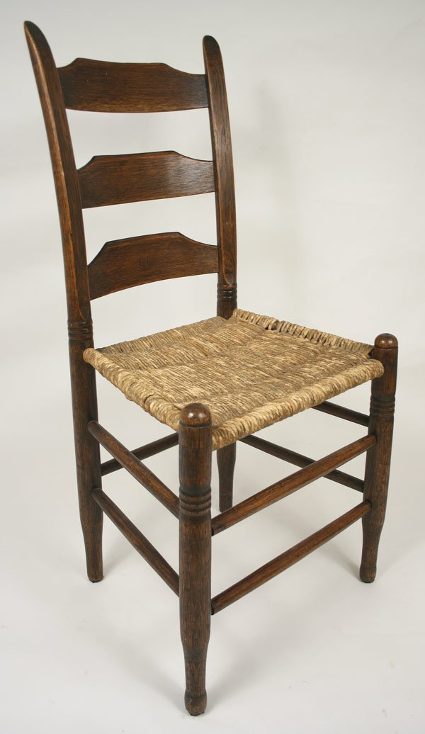 19: Williamson County, TN stamped side chair