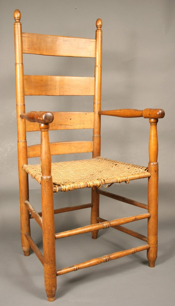 22: Southern armchair with early turnings