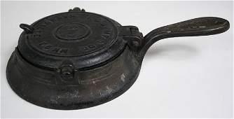 391: Rare Nashville, TN waffle iron