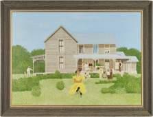 Carroll Cloar painting, The Landlady