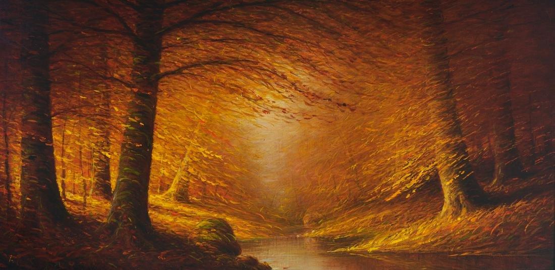 Harvey Joiner O/B Fall Landscape