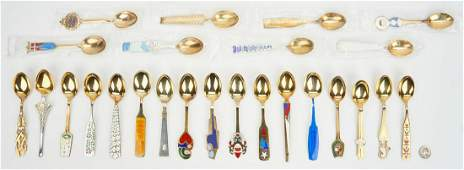25 A Michelsen Gilded Sterling Silver Spoons