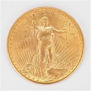 1915 $20 Saint-Gaudens Gold Coin