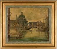 European School OC Venetian Canal Scene