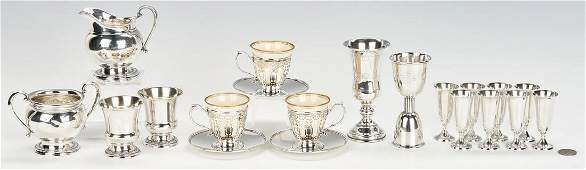 20 Sterling Silver Items incl Tiffany  Co
