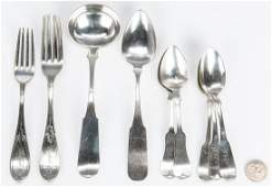 10 pcs Assorted Coin  Sterling Silver Flatware