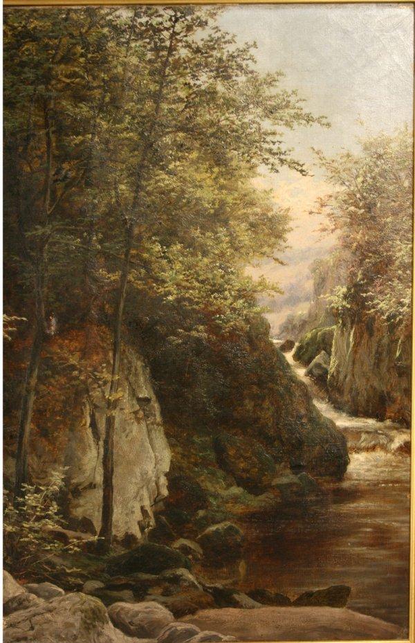 160: Oil painting W. Bromley (British, fl. 1835 -1888) - 4