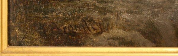 160: Oil painting W. Bromley (British, fl. 1835 -1888) - 5