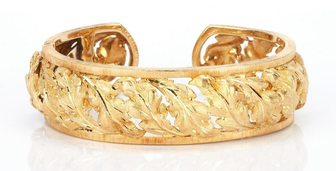 18K Buccellati Cuff Bracelet