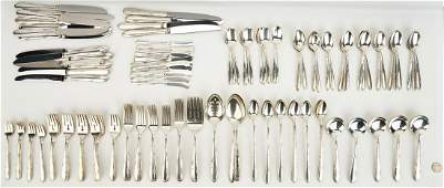 192 Pcs. Towle Madeira Sterling Flatware
