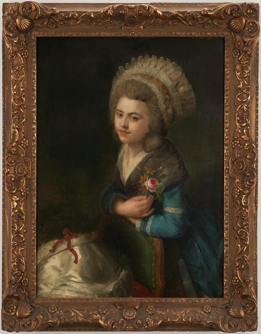 Manner of Jean-Marc Nattier, O/C Portrait of a Lady