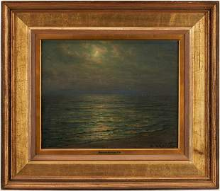 Thomas Alexander Harrison O/B Moonlit Seascape