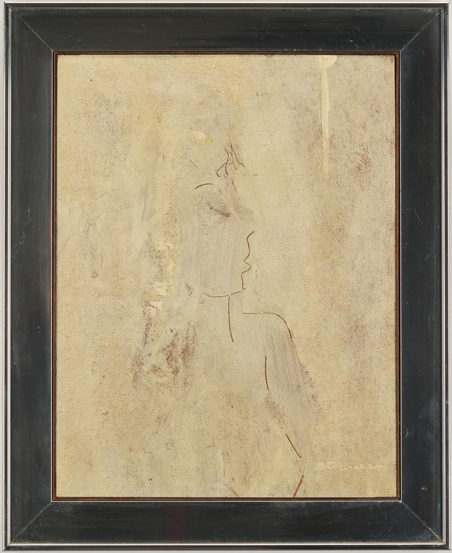 Sterling Strauser O/B, Nude Painting