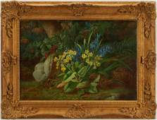 Carl Ferdinand Hurten OC Floral Landscape