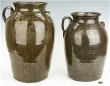 2 Georgia Pottery Jugs, Chester & Matthew Hewell