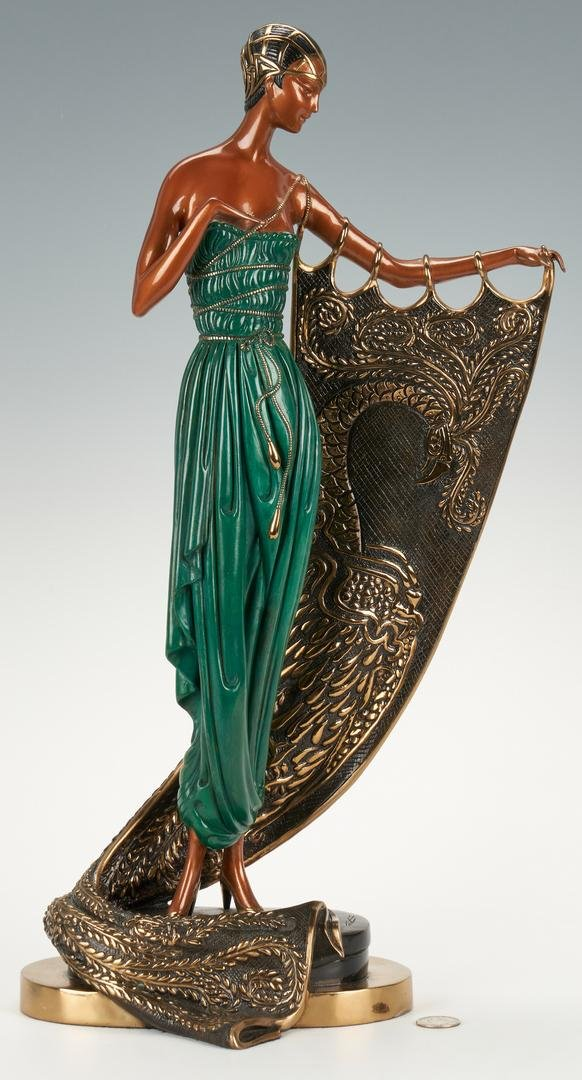 Erte Bronze, Emerald Night