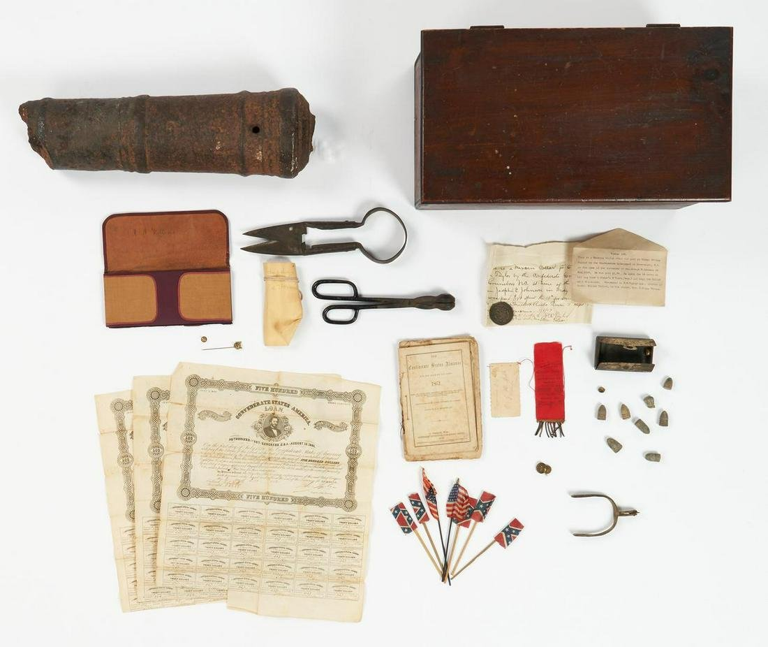 Assembled Group of 34 Civil War/U.S. Revolution Related