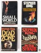 4 Signed Novels, incl. Stephen King