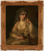 O/C After Angelica Kauffman, Vestal Virgin