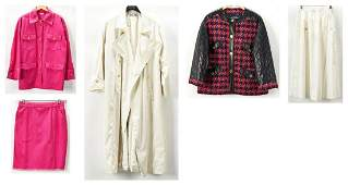 5 Chanel Designer Items incl Leather Jacket