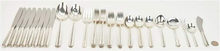 41 Pcs Towle Sterling Flatware most Rambler Rose
