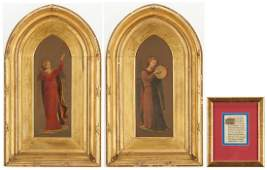 3 Religious Artworks incl French Illuminated